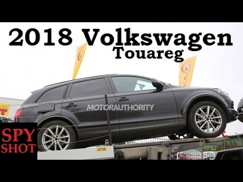 2018 volkswagen touareg spy shot youtube. Black Bedroom Furniture Sets. Home Design Ideas