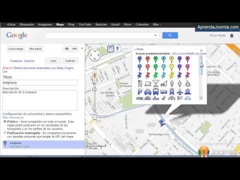 Como Insertar Un Mapa De Google En Joomla - Google Maps En Joomla