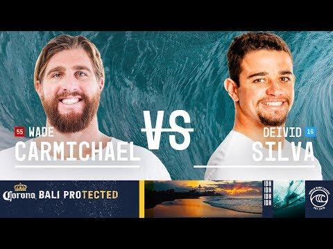 Wade Carmichael vs. Deivid Silva - Round of 32, Heat 4 - Corona Bali Protected 2019