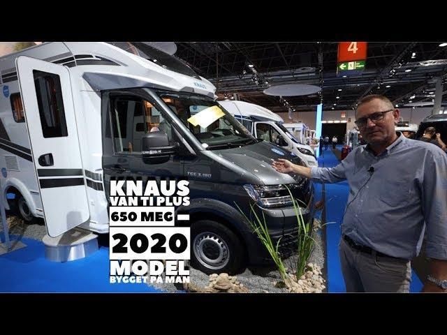 Knaus Van TI Plus 650 MEG (2020 model) bygget på MAN chassis