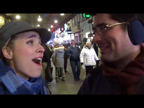 Meeting Christy Altomare from Broadway's Anastasia