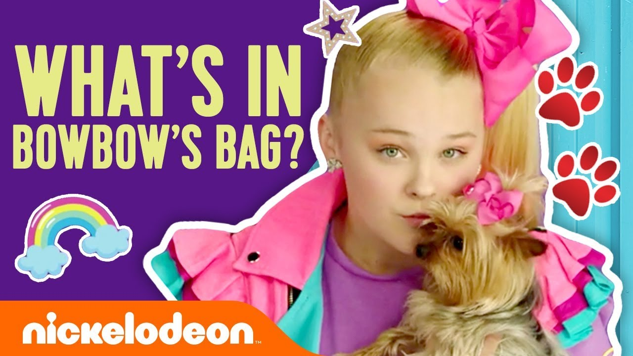 Bowbow S Tricks What S In Bowbow S Doggie Bag Jojo Siwa