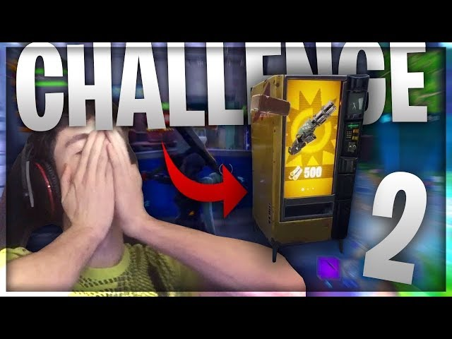 VENDING MACHINE CHALLENGE 2 !!