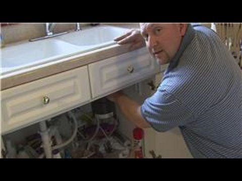 improvement maintenance how to fix a garbage disposal that leaks