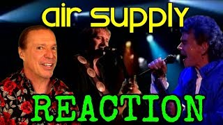 Vocal Coach Reacts To Air Supply - Lost In Love - Live - Ken Tamplin