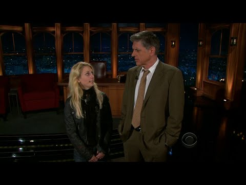 Late Late Show with Craig Ferguson 9/8/2010 James Lipton,  Monica Potter
