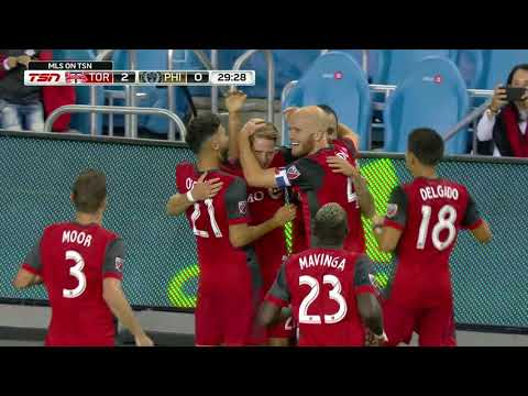 Match Highlights: Philadelphia Union at Toronto FC - August 23, 2017