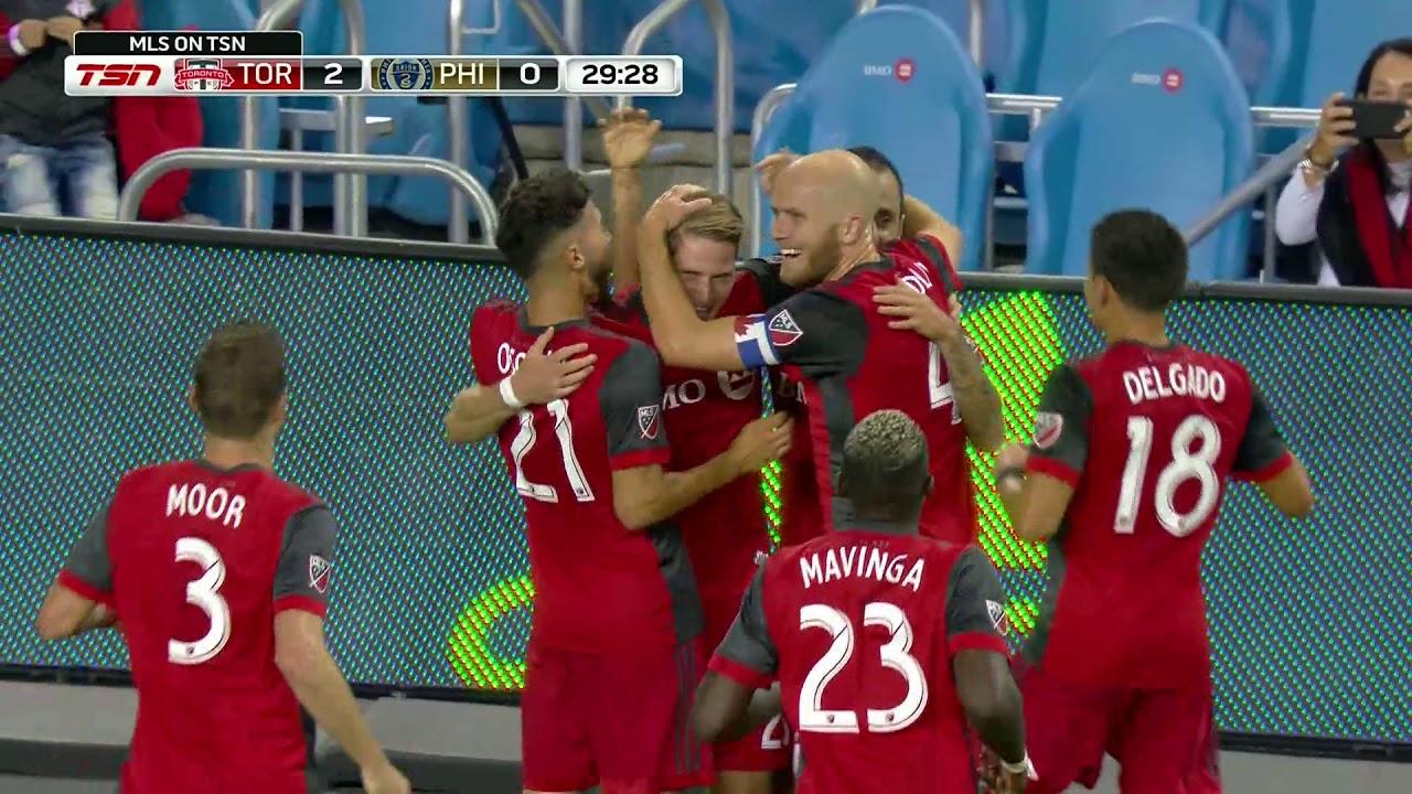 Match Highlights: Philadelphia Union at Toronto FC August 23, 2017