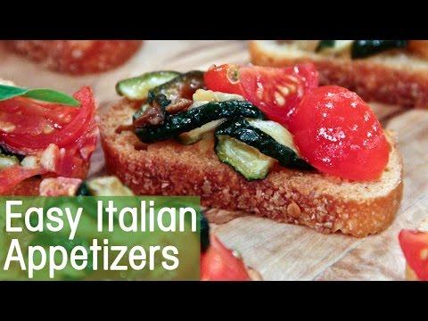 Appetizers: Salami Bruschetta and Italian Quesadilla - CBC Life - 동영상