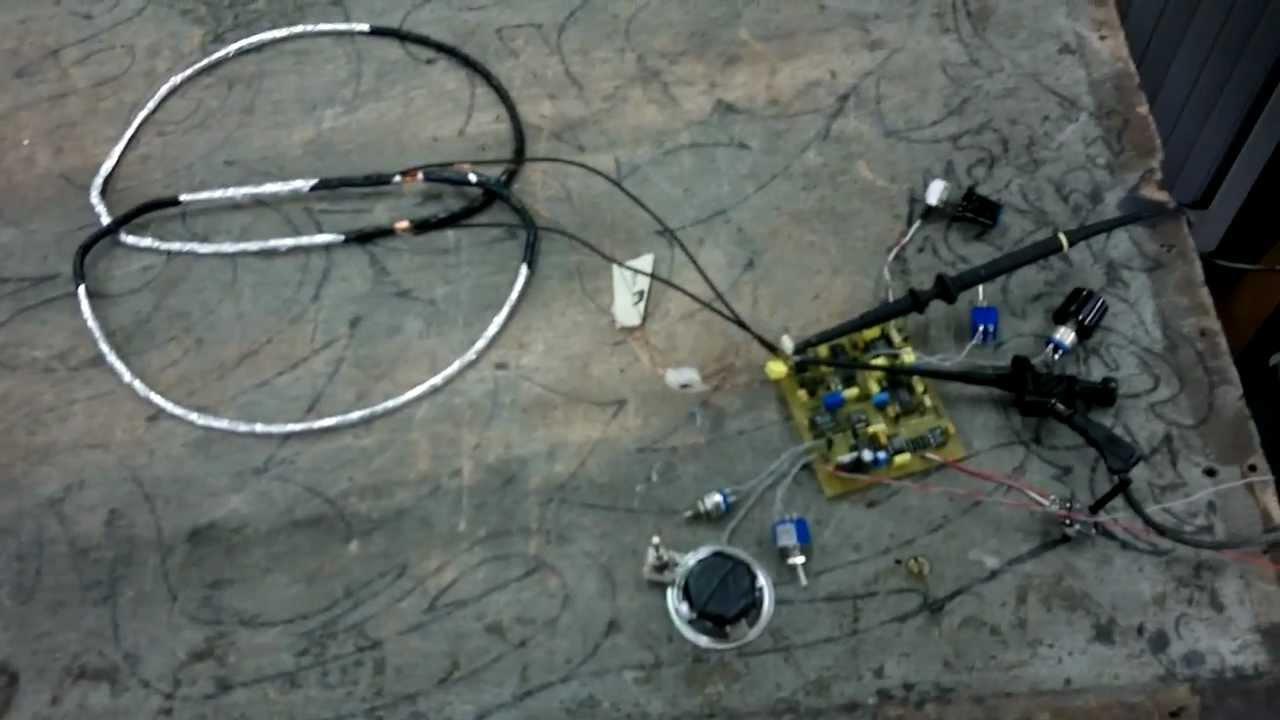 Test préliminaire détecteur IDX PRO - YouTube
