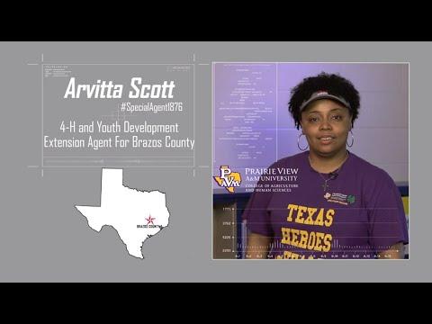 #SpecialAgent1876 Mini Series - Arvitta Scott, Brazos County