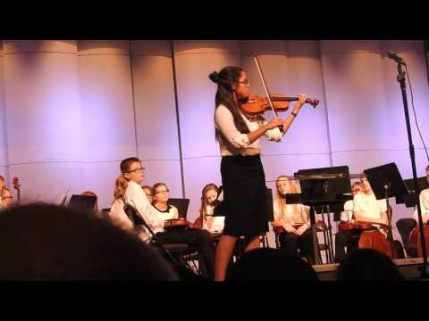 Malaya Yague - Willmar Middle School Music Program