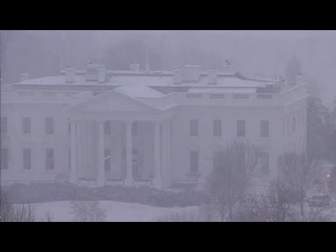 'Snowzilla' begins at the White House