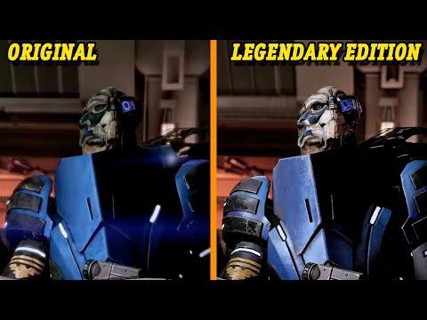 Сравнение Mass Effect: Legendary Edition и оригинальных игр серии