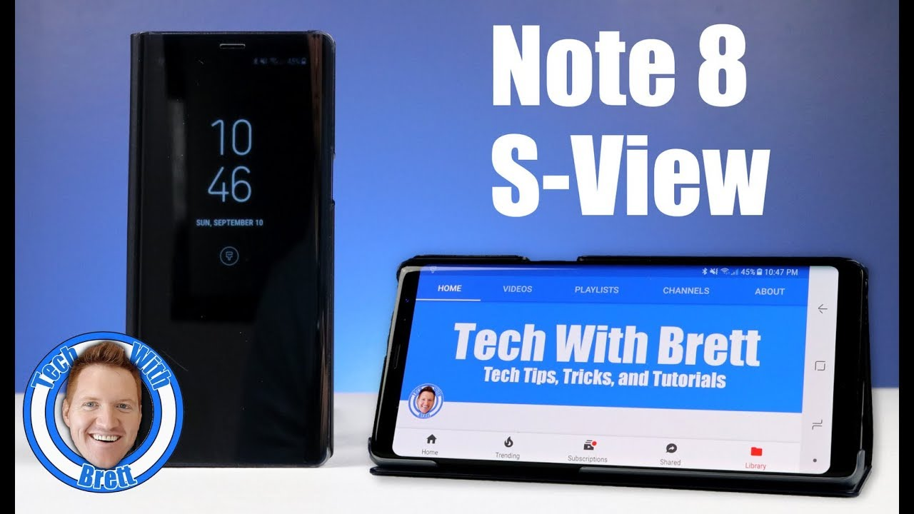detailed look 6b16f 22bc8 samsung galaxy note 8 s view flip cover review