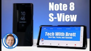Note 8 S-View Flip Cover With Kickstand Review - Case by Samsung