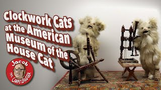 Clockwork Cats at the American Museum of the House Cat