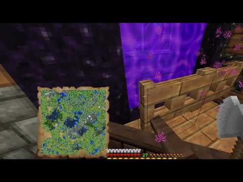 Minecraft Survival Part 53 Interim work on Projects