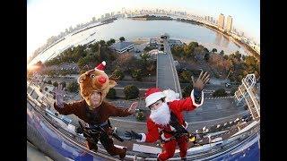 21日、クリスマスを目前に東京・お台場の「デックス東京ビーチ」にト...