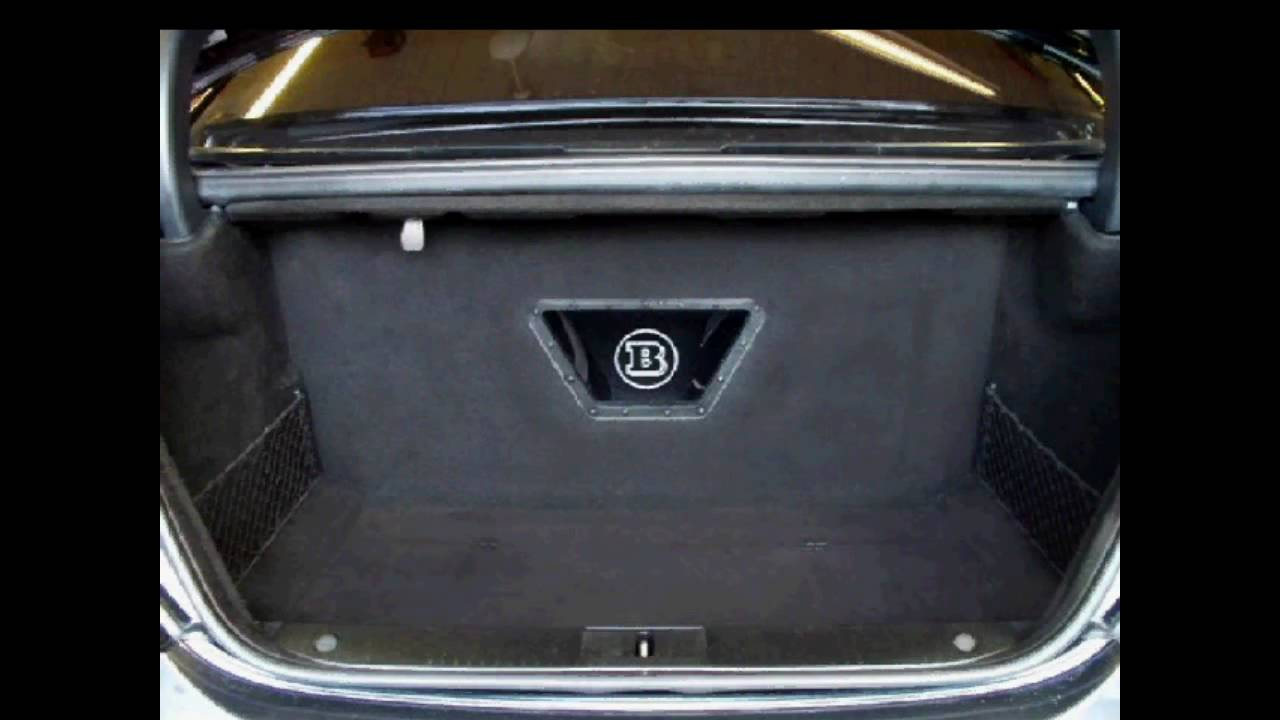 Mercedes benz s600 brabus custom subwoofer uprade youtube for Mercedes benz c300 sound system