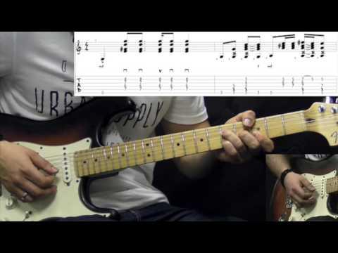 Jimi Hendrix - Purple Haze - Rock Guitar Lesson (w/Tabs)