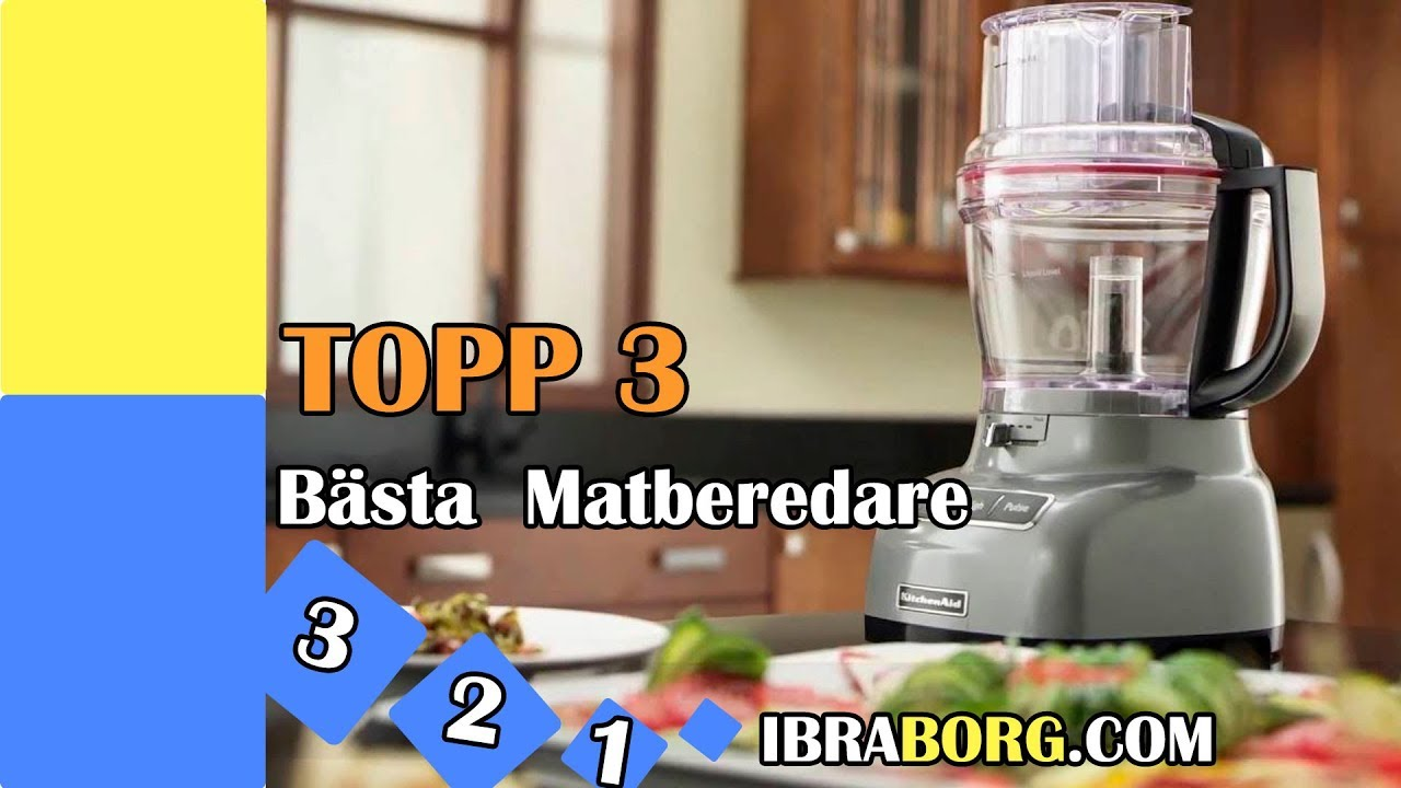 food processor bäst i test