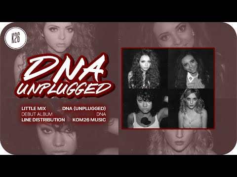 Little Mix ~ DNA (Unplugged) ~ Line Distribution