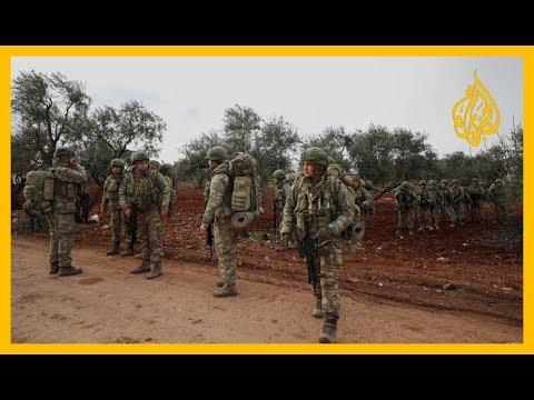 بدعم من القوات التركية.. المعارضة السورية تواصل معاركها لاستعادة بلدات من النظام  - نشر قبل 50 دقيقة