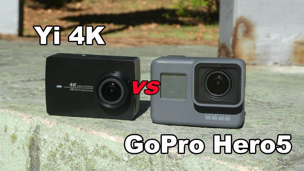 GoPro Hero 5 Black, análisis y comparación con Xiaomi Yi 4K y SJ7 Star