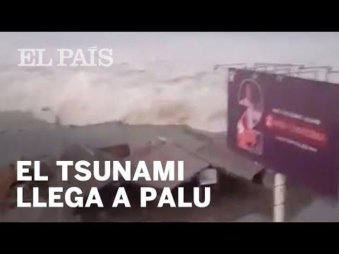 TSUNAMI INDONESIA   El Momento En El Que La Ola Azota Palu   Internacional