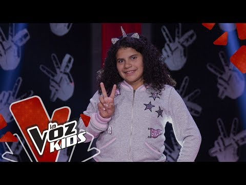 Gabi V canta Si Te Molesta – Audiciones a Ciegas | La Voz Kids Colombia 2019