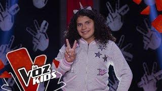 Gabi V canta Si Te Molesta - Audiciones a Ciegas La Voz Kids Colombia 2019