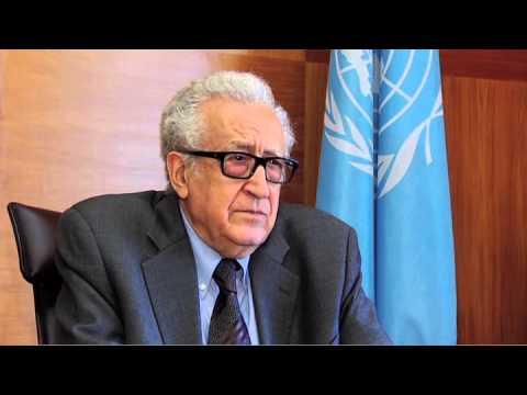WORLDMAGNUM: SYRIA: GENEVA II: POSSIBILITY of POLITICAL SOLUTION: LAKHDAR BRAHIMI