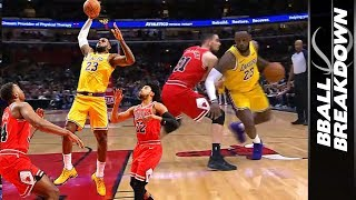 Lebron & Kuzma Save Lakers From The Running Of The Bulls