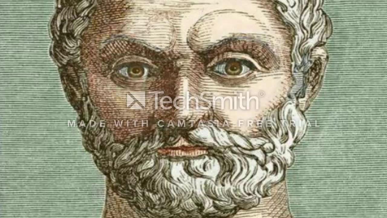 FELSEFE TARİHİ-Thales ''Her Şey Tanrılarla Doludur''-Sesli Kitap (1)
