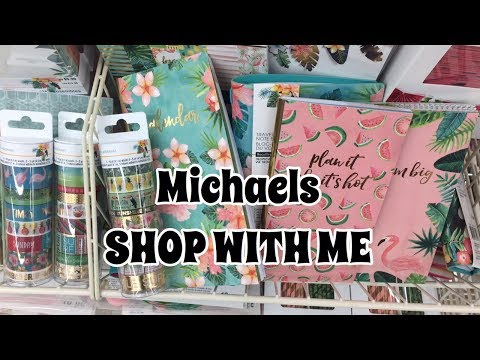 Shop With Me : MICHAELS More Tropical Life | I'm A Cool Mom