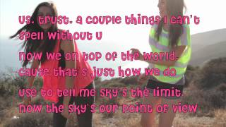 Cimorelli As Long As You love Me Lyrics