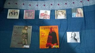 泰勒絲 (Taylor Swift) - 舉世盛名 (Reputation) 普通版專輯開箱