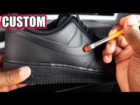 Custom Air Force 1 S Simple Youtube