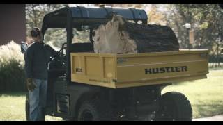 Hustler Innovative Levelift Dump Cart -- MDV