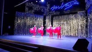 Mirada show 2017 Keep balance acrobatic show
