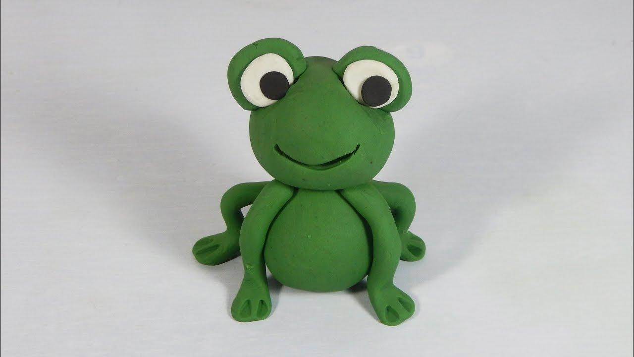 C mo hacer un sapo rana en plastilina paso a paso f cil for Como hacer una laguna