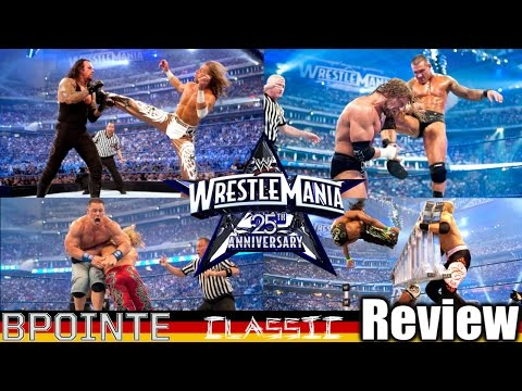 Bestes Wrestling Match?! - WWE WrestleMania 25 Review - Podcast Classic #11 (Deutsch/German)