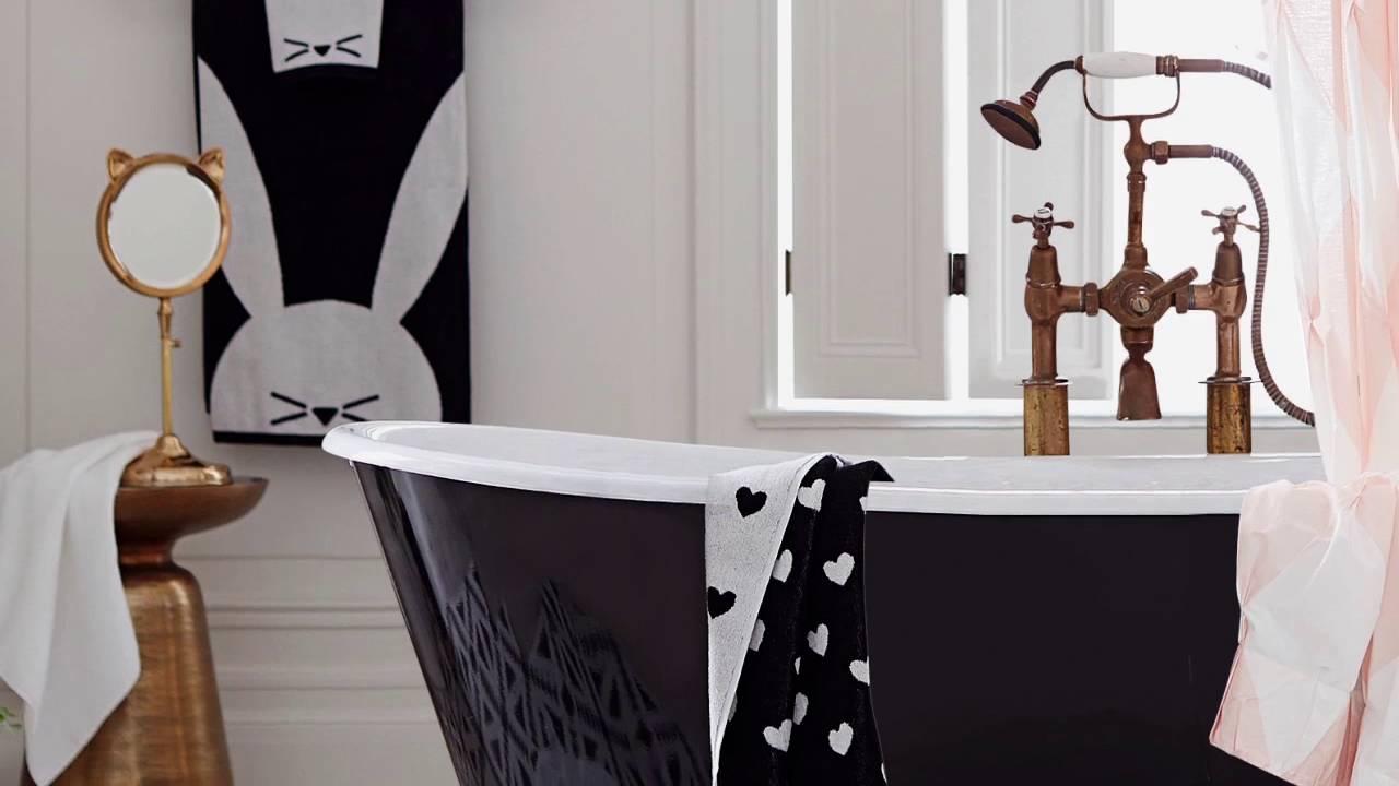 Cool Bathroom Design | Emily U0026 Meritt For PBteen   YouTube