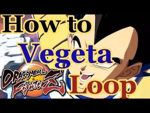 DBFZ Base Vegeta Loops - Detailed Guide on How to Staircase Vegeta Corner Loop
