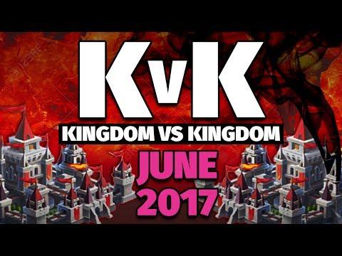 Lords Mobile - June 2017 KvK - 20 Million Kills- NEW RECORD