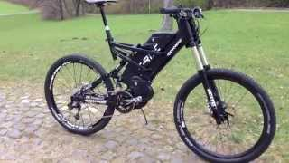 conway e rider umbau im detail extreme e bike. Black Bedroom Furniture Sets. Home Design Ideas