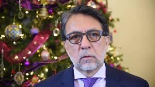 Mensaje Navideño del Embajador Luis E. Arreaga