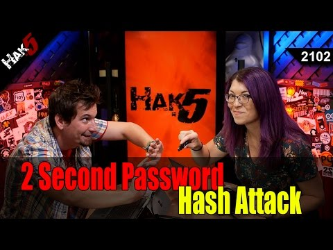 2 Second Password Hash Hack - Hak5 2102