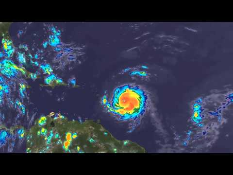 Hurricane Hugo 16 Day Satellite Loop